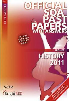 History Higher SQA Past Papers 2011
