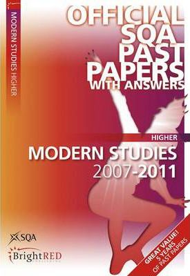 Modern Studies Higher SQA Past Papers 2011