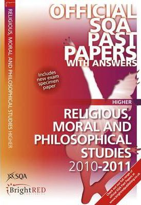 Religious, Moral and Philosophical Studies Higher SQA Past Papers 2011