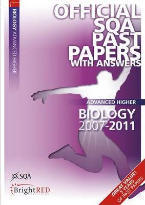 Biology Advanced Higher SQA Past Papers 2011