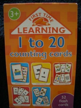 1 - 20 Counting Flash Cards