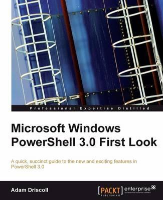 Microsoft Windows Powershell 3.0 First Look
