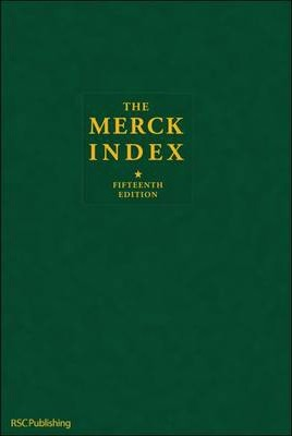 Merck Index Book