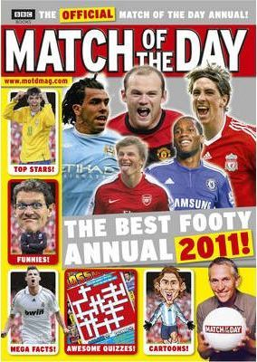 """""""Match of the Day"""" Annual 2011"""