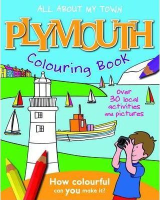 Plymouth Colouring Book