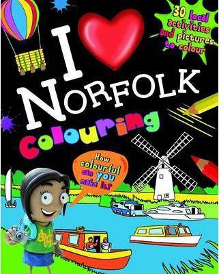 I Love Norfolk Colouring Book