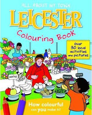 Leicester Colouring Book