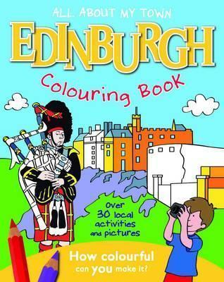 Edinburgh Colouring Book