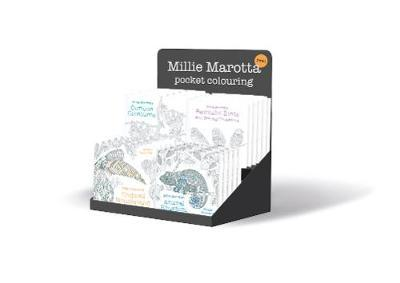 Millie Marotta's Pocket Colouring 20 Copy Counter Pack