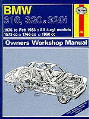 B. M. W. 316, 320 and 320i 1975-83 Owner's Workshop Manual