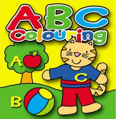 """ABC / 123 / Words / Counting Pads: """"ABC Colouring"""" WITH """"123 Colouring"""" AND """"First Words Colouring"""" AND """"Counting Colouring"""""""