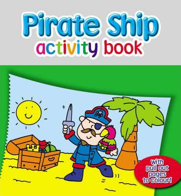 Pirate Ship Activity Book
