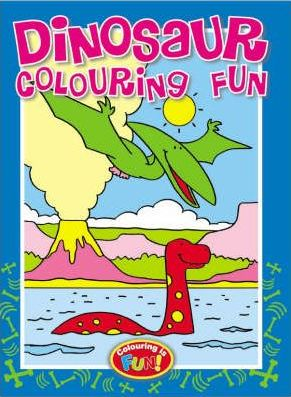 Dinosaur Colouring Fun (2 titles)