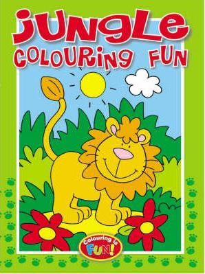 Jungle Colouring Fun