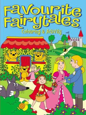 Favourite Fairytales Colouring and Activity