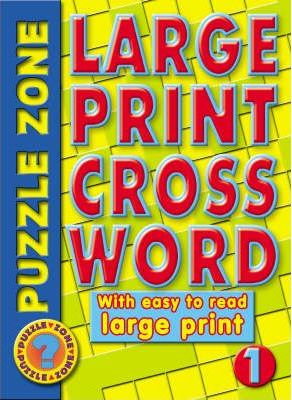 Large Print Crossword