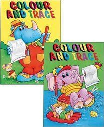 Colour and Trace Book