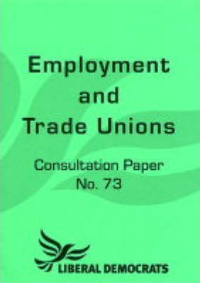 Employment and Trade Unions