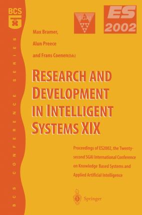 Research and Development in Intelligent Systems XIX : Alun