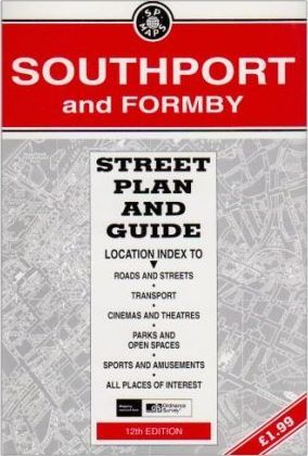 Southport and Formby Street Plan & Guide
