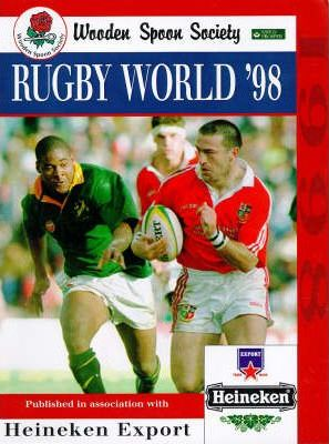 Wooden Spoon Society Rugby World 1998 Nigel Starmer Smith