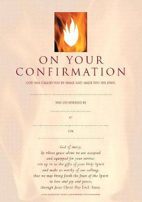 Confirmation Certificates (pack of 20)