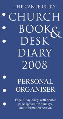 The Canterbury Church Book and Desk Diary 2008