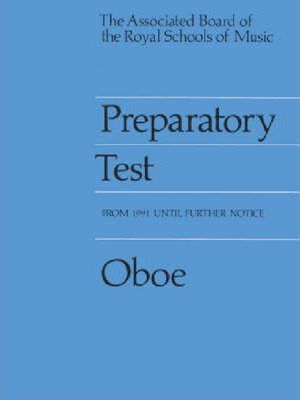 Preparatory Test for Oboe