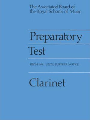 Preparatory Test for Clarinet