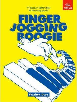 Finger Jogging Boogie : 17 pieces in lighter styles for the young pianist