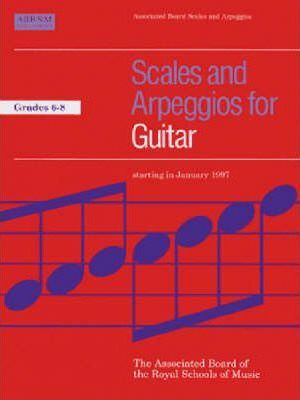 Scales and Arpeggios for Guitar: Grades 6-8