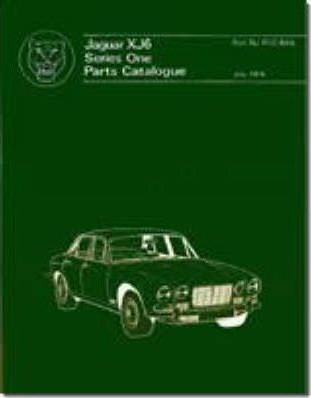 Jaguar XJ6 Series 1 Parts Catalogue