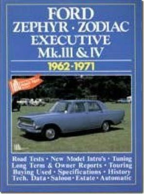 Zephyr, Zodiac and Executive MK.3 and 4, 1962-71