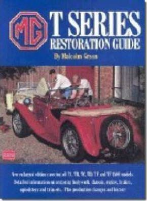 MG T Series Restoration Guide Cover Image