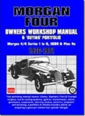 Morgan Four Owners Workshop Manual and Buying Portfolio Cover Image