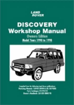 land rover discovery workshop manual owners edition 1990 to 1998 rh bookdepository com 1997 Range Rover 1998 range rover user manual