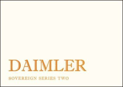 Daimler Sovereign 3.4 and 4.2 Series 2 Owners Handbook E1040/7