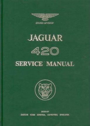 Jaguar 420 Service Manual