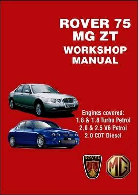 rover 75 and mg zt workshop manual r m clarke 9781855208841 rh bookdepository com 160 Mg MG ZR