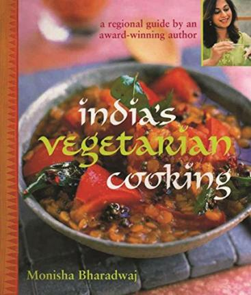 India's Vegetarian Cooking Cover Image
