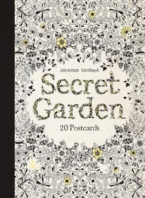 Secret Garden 20 Postcards Johanna Basford 9781856699464