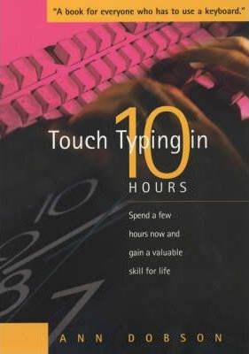 Touch Typing In Ten Hours
