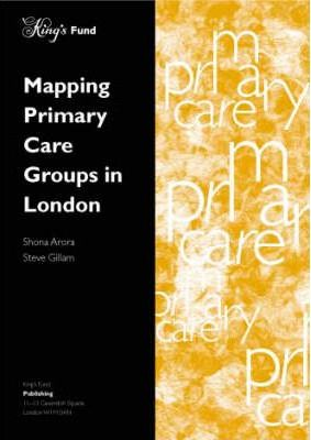 Mapping Primary Care Groups in London