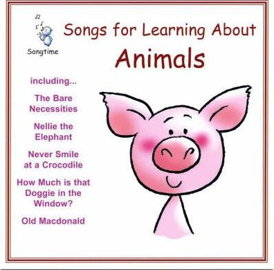 Songs for Learning About Animals