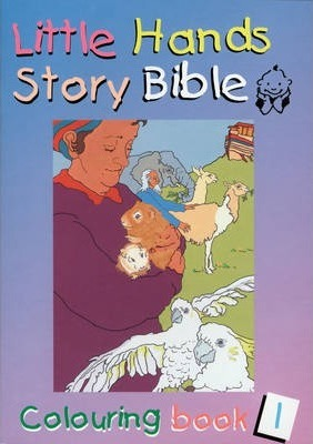 Little Hands (Story Bible): Colouring Book 1