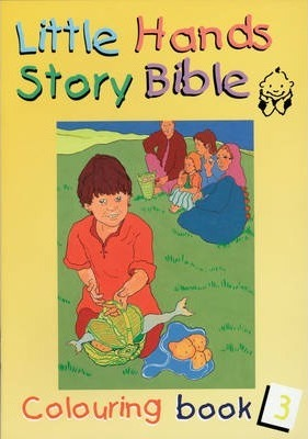 Little Hands (Story Bible): Colouring Book 3