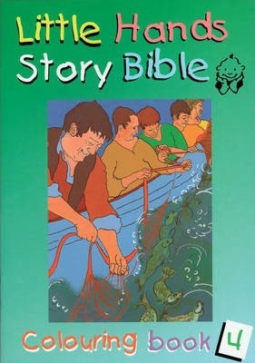 Little Hands (Story Bible): Colouring Book 4