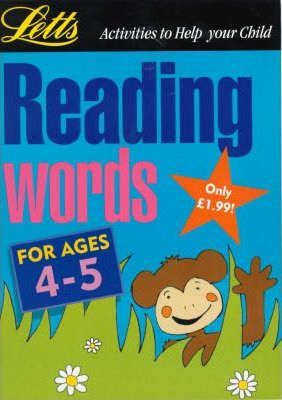 Reading Words: Age 4-5