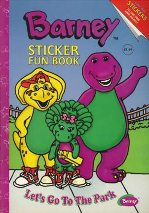 Barney Sticker Fun Book: Let's Go to the Park