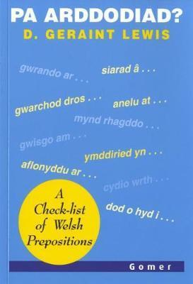 Pa Arddodiad? - A Check-list of Verbal Prepositions Cover Image